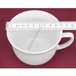 Bécsi bögre, 0,3 liter fehér porcelán