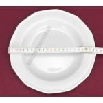 Mercury mélytányér 22 cm 0,3 liter, porcelán