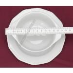 Mercury levesescsésze+alj 16 cm 0,32 liter, porcelán