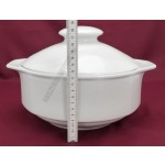 Mercury levesestál+fedő 3 liter, porcelán