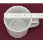 Mercury bögre, 0,3 liter, porcelán