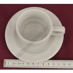 Arcadia kávéscsésze+alj, porcelán 0,08 liter
