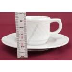 Afrodyta kávéscsésze+alj 1 dl porcelán