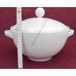 Kaszub leveses tál 3 liter, porcelán