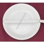 Főzelékes-, adagtányér 21 cm 0,5 liter porcelán