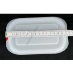 Gn edény 1/9 65 mm (10,8×17,6×6,5 cm) 0,6 liter ételtároló légmentesen záró fedővel