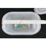 Gn edény 1/9 150 mm (10,8×17,6×15 cm) ételtároló légmentesen záró fedővel 1,5 liter