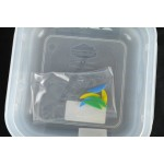 Gn edény 1/6 65 mm (16,2×17,6×6,5 cm) ételtároló légmentesen záró fedővel 1,1 liter