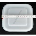 Gn edény 1/6 100 mm (16,2×17,6×10 cm) ételtároló légmentesen záró fedővel 1,7 liter