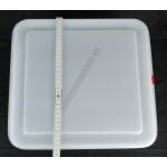 GN edény 2/3 150 mm (32,5×35,4×15 cm) 13 liter ételtároló légmentesen záró fedővel