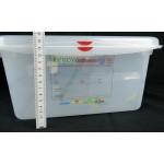 GN edény 1/1 150 mm (32,5×53×15 cm) 21 liter ételtároló légmentesen záró fedővel