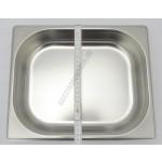GN edény, 1/2 65 mm, 4 l, rozsdamentes