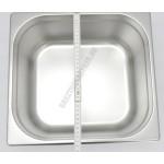 GN edény, 2/3 150 mm, 13 l, rozsdamentes