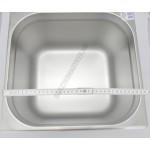 GN edény 2/3 200 mm (32,4×35,5×20 cm) 18 liter rozsdamentes tepsi
