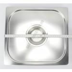 Gn edény fedő 2/3 (32,5×35,4 cm) rozsdamentes