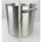 Fazék 26 literes 32 cm átmérő, rozsdamentes