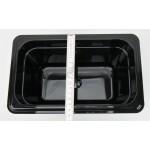 Polikarbonát GN edény 1/4 150 mm, 3,8 l, fekete