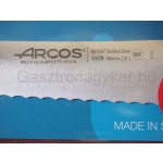 Arcos Colour Prof szeletelőkés, 25 cm hullámos penge, csúszásmentes markolat, színkódos