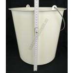Vödör, 12 liter, 29×30 cm, fém füllel