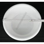 Peremes tál 26 cm 3 liter, fehér, műanyag