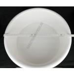 Peremes tál, 48 cm, 20 liter, fehér
