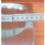 GN 1/2 fedő, rozsdamentes