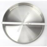Thema pincér plató/tálca, sörös tálca, 30 cm, kerek, rozsdamentes