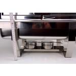 Chafing Roll-Top gn 1/1 90°-os bukófedővel 9 liter