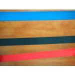 Kordonoszlop, 2 méter kék szalagos, rozsdamentes