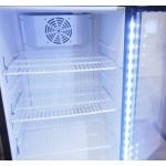 Üvegajtós hűtővitrin 100 literes SC-98
