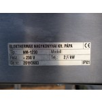 Elektromos vízfürdős melegen tartó, gördíthető NM-1230