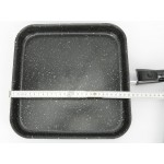 Serpenyő, Bio Stone indukciós grill serpenyő, levehető nyelű 28×28 cm