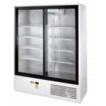 Csúszó üvegajtós hűtővitrin több színben, bruttó 1200 literes SCH 1400 R