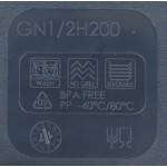 Gn edény 1/2 200 mm (26,5×32,5×20 cm) 11 liter polipropilén