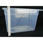 Gn edény 1/3 200 mm (32,5×17,6×20 cm) 6,5 liter polipropilén