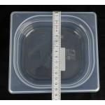 Gn edény 1/6 65 mm (16,2×17,6×6,5 cm) 1 liter polipropilén