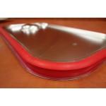 Gn edény fedő 1/1  (32,5×53 cm) szilikon tömítéssel rozsdamentes