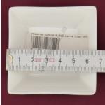 Moderne kínáló 6,5×6,5×1,8 cm 0,04 liter szögletes lapos