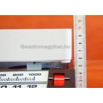 Tolósúlyos konyhai mérleg, 13 kg-os méréshatár, klasszikus