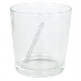 Oda vizes-whisky pohár, 250 ml, üveg