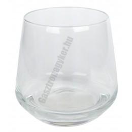 Lal vizes-whisky pohár, 345 ml, üveg