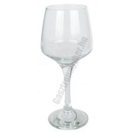 Lal boros pohár, 250 ml, üveg