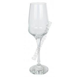 Lal pezsgős flute, 230 ml, üveg