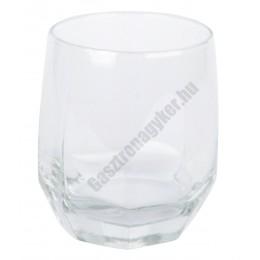 Diamond whisky pohár 310 ml, üveg