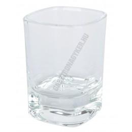 Viva pálinkás pohár 50 ml, üveg