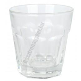 Max vizespohár 260 ml, üveg