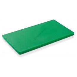 Vágólap, 53x32,5x2 cm (Gn 1/1), zöld, 6 gumitalpacskával