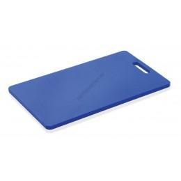 Vágólap fülkivágással, 40x25x1,2 cm, kék, polipropilén