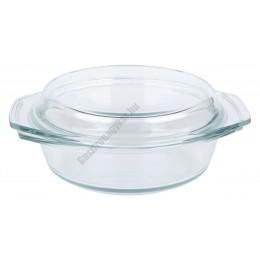 Simax hőálló jénai edény fedővel 1,0 liter