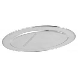 Tálca, ovális, 40 cm, vastagság 0,4 mm